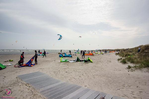 Kitesurfen auf Fehmarn - Kitespot Gründer Brink