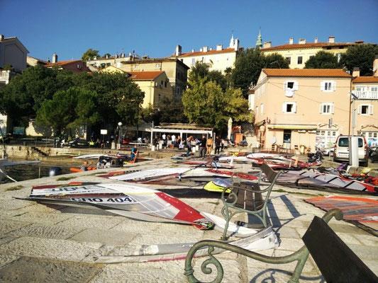 Windsurfer in Opatija