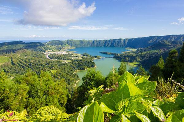 Sete Cidades auf der Azoreninsel Sao Miguel