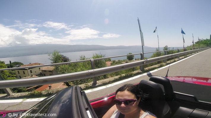 Roadtrip durch Italien mit dem Mazda MX5, Gardasee