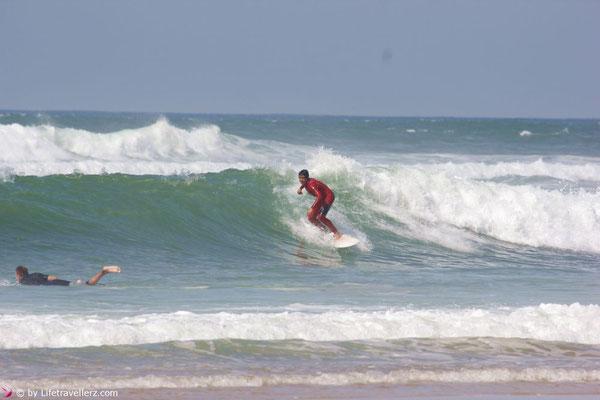 Surfen in Lacanau-Ocean