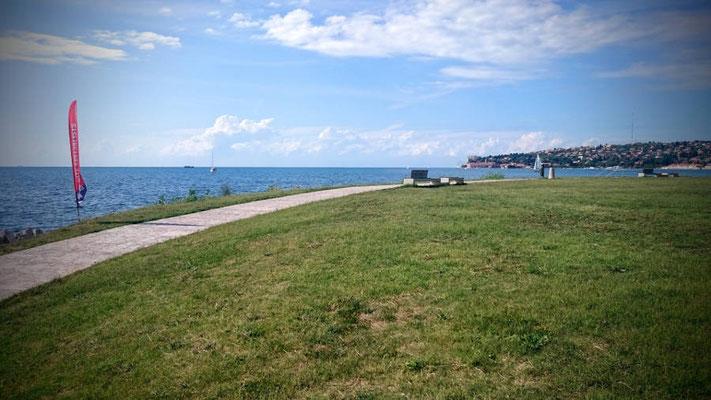 Kitespot Portoroz Slowenien - Kitesurfing - Tramontana