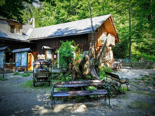 Wirtshaus am Toplitzsee im Salzkammergut