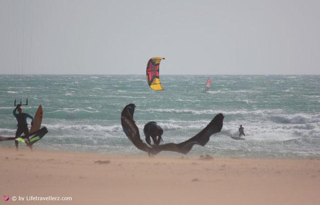 Kitesurfen in Tarifa - Kitespot Canos de Meca