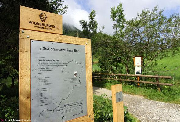 Wildererweg am Gleinkersee