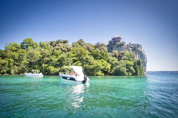 Bootsausflug am Lago di Bolsena