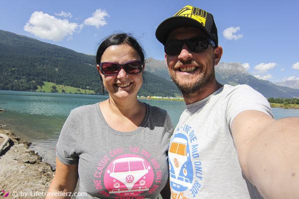 Van Lifestyle, VW Bus, Reschensee, VanOneClassicCars, Lifetravellerz, Kitesurfen