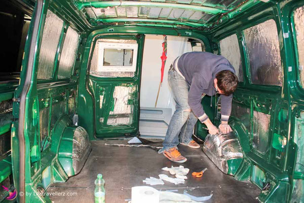 VW Bus Camperconversion-Alubutyl