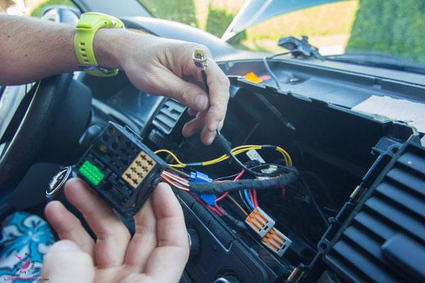 Autoradio im VW T5 umrüsten