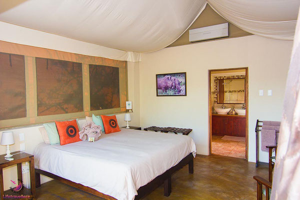 Cheetah Paw Eco Lodge in Südafrika