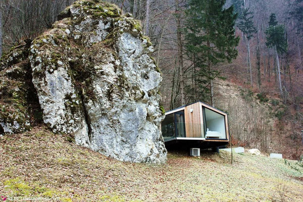Glamping in Bled, Slowenien