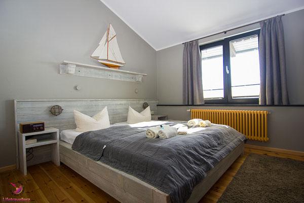Zimmer im Cafè Knatter auf Usedom