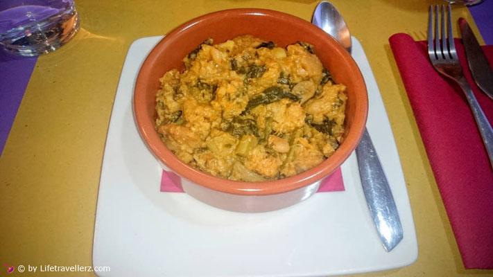 Traditionelles Gericht in der Toskana