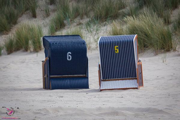 Ausflugstipps für Usedom - Im Strandkorb chillen