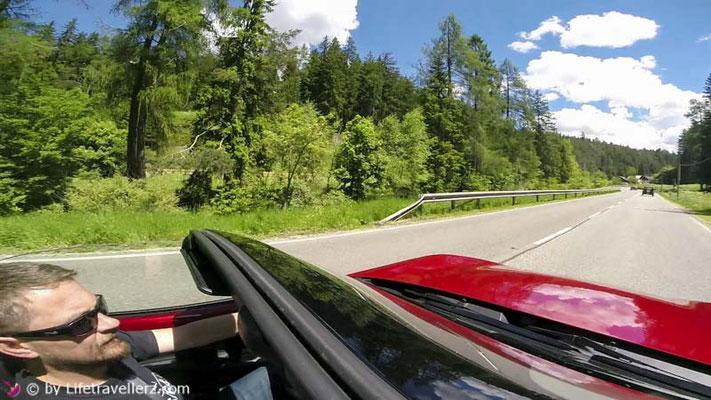 Roadtrip, Roadster, Mazda MX5, Italien,Südtirol, Veneto, Lifetravellerz