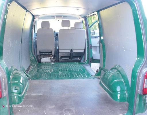 VW T5 Transporter Ladefläche