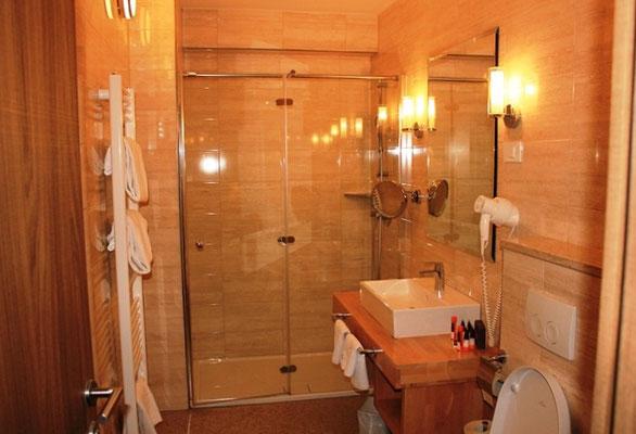 Badezimmer im Lifeclass Hotel in Portoroz