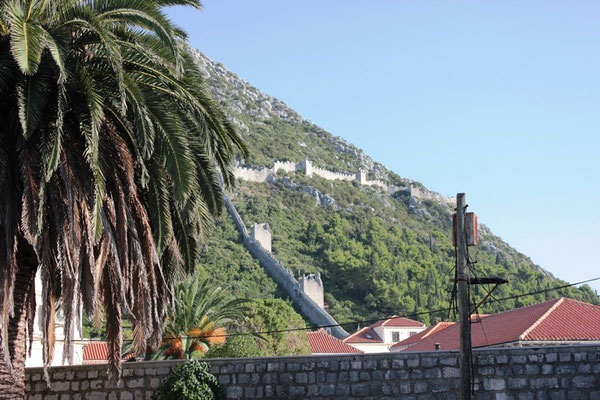 Längste Stadtmauer der Welt in Kroatien