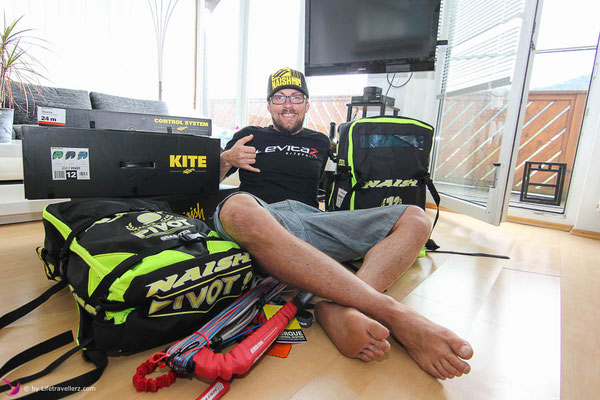 Lifetravellerz sponsored by Naish Kiteboarding