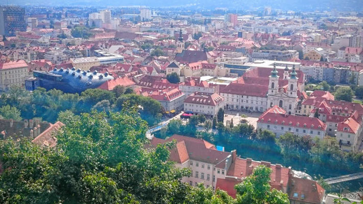 Graz von oben