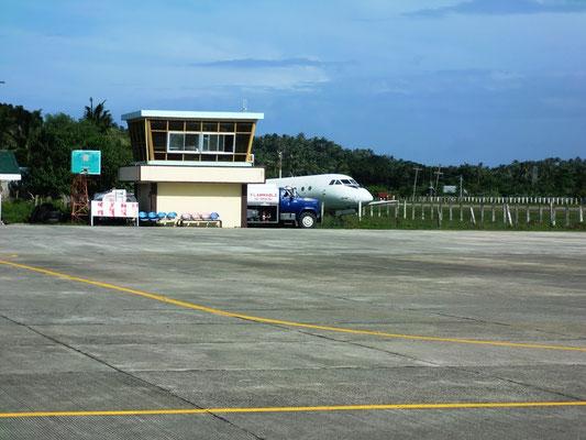 Flughafen auf einer Insel auf den Phillipinen