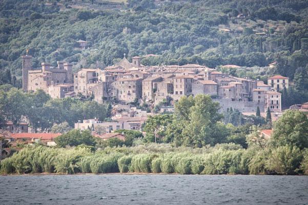 Mittelalterlische Stadt Bolsena