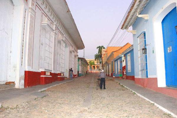 Gasse in Trinidad auf Kuba