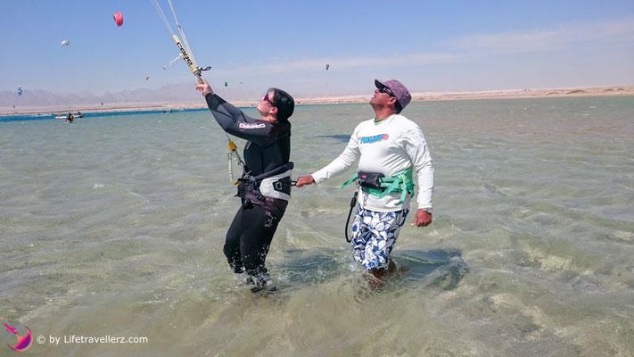 Kitekurs in Somabay
