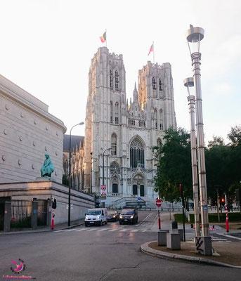Kirche beim Sightjogging in Brüssel by Lifetravellerz