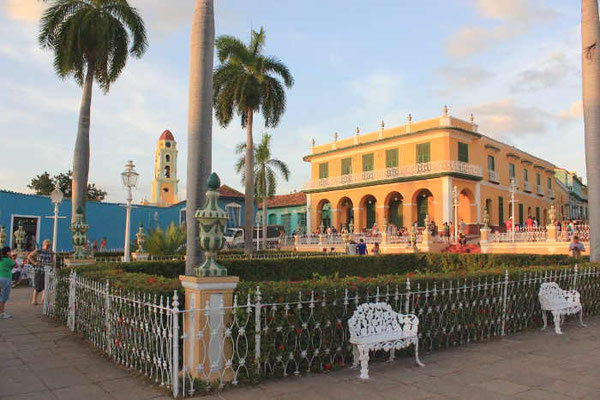 Stadtplatz von Trinidad auf Kuba