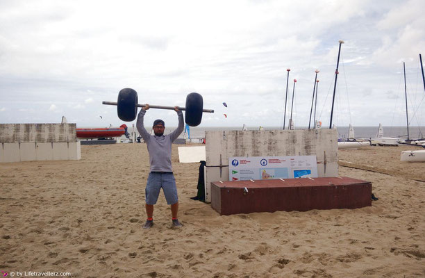 The strongest man of Knokke-Heist