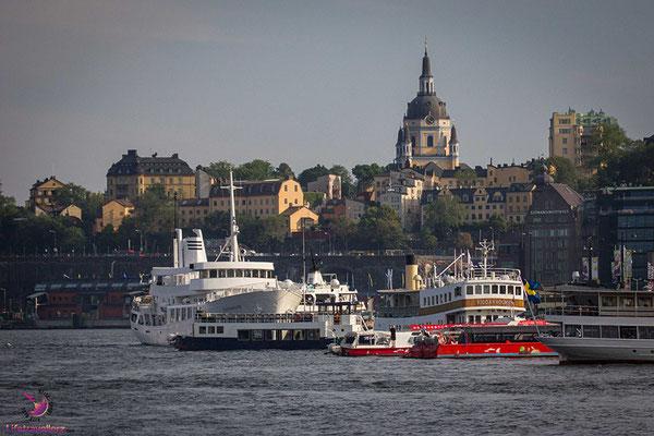 Sightseeing in Stockholm - Vom Nordkap nach Österreich