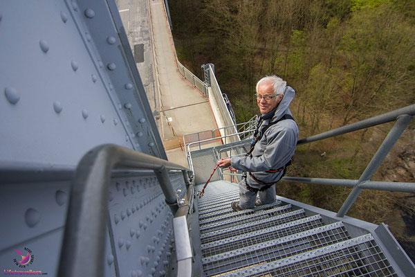 Bridgewalking in Middelfart - Angst auf Reisen