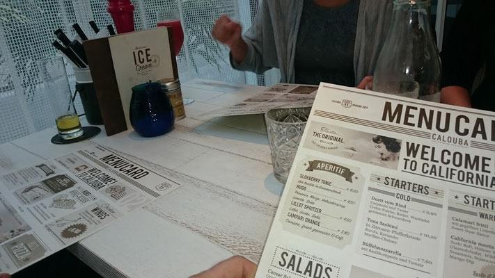 Speisekarte Calouba Californian Restaurant in Thalgau