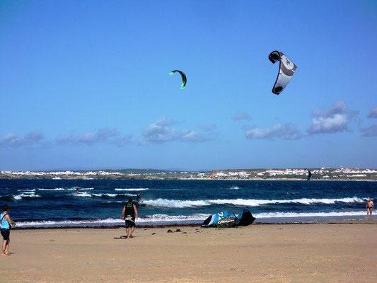 Kitesurfen in Peniche