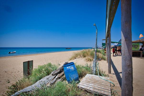 Dusche Corfu Kite Club