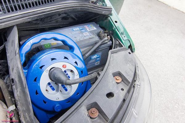 VW T5 Bus Ausbau Elektrik