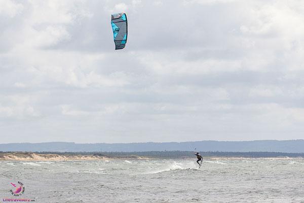 Kitesurfen in Laxvik - Schweden