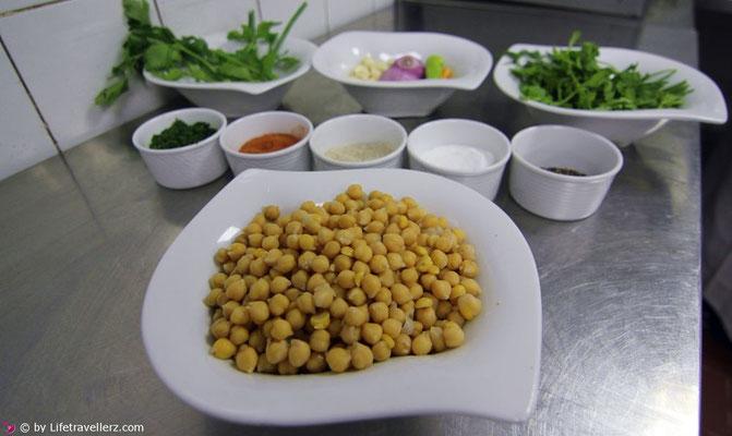 Zutaten Hummus