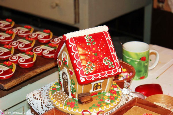 Lebkuchen Schauküche im Lectar Haus