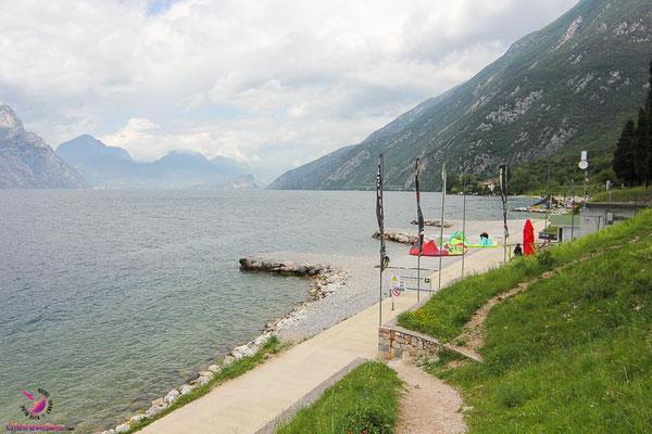 Kitesurfspot Lago di Garda, Malcesine Kiteclub