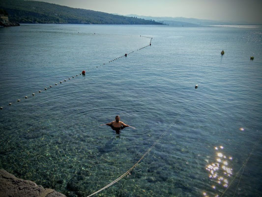 Das Meer vor Dubrovnik