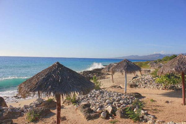 Am Strand von Trinidad auf Kuba