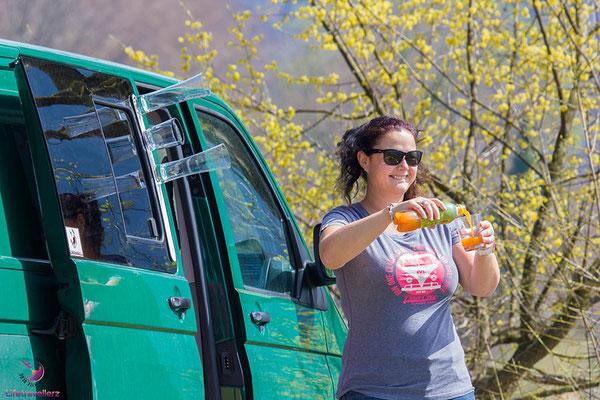 Beim Campen unterwegs mit den Gläsern von silwy magnetic drinkware