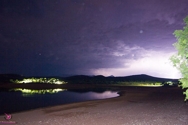 Gewitter in der Buffelsdrift Game Lodge