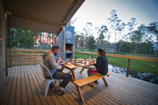 AfriCamps in Oakhurst an der Garden Route