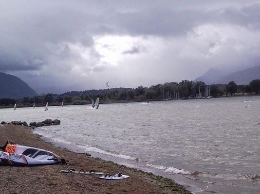 Kitesurfen Chiemsee