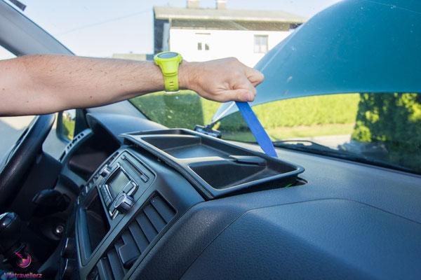 Ausbau Autoradio im VW T5 Bus