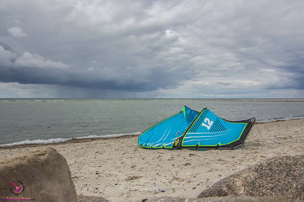 Kitespot in Laboe, Ostsee