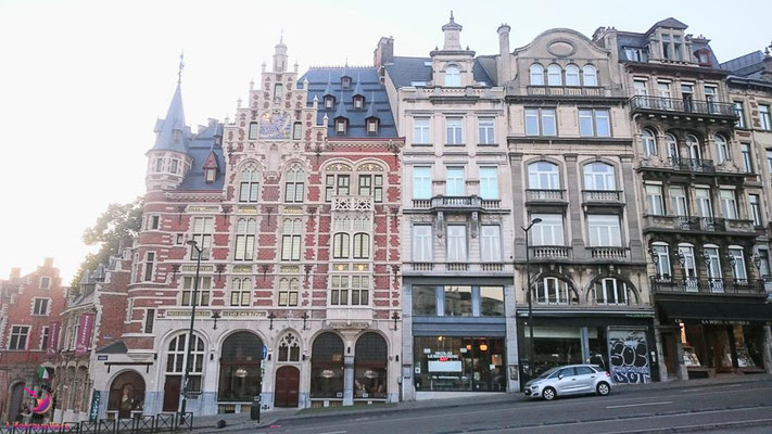 Herrenhaus beim Sightjogging in Brüssel by Lifetravellerz